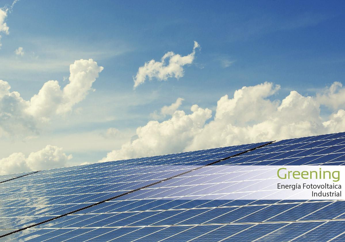 Energía fotovoltaica industrial