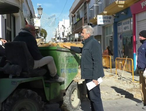 Diario de Cádiz: Comienzan las obras pendientes en la calle Isaac Peral