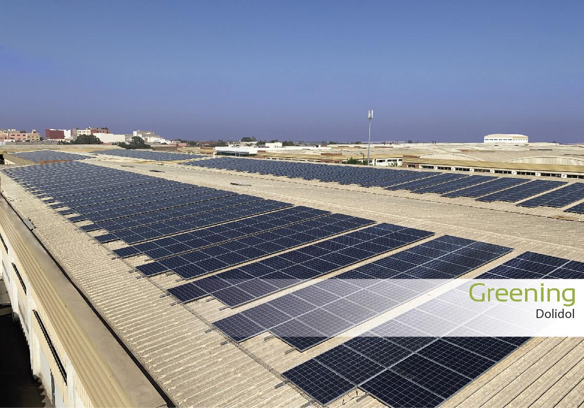 Instalacion fotovoltaica en casablanca empresa dolidol