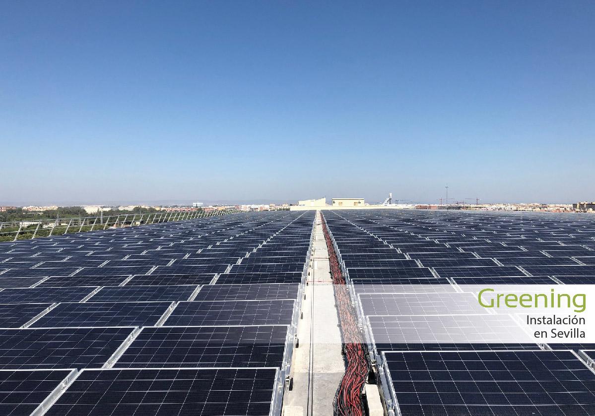 Instalacion fotovoltaica en Sevilla