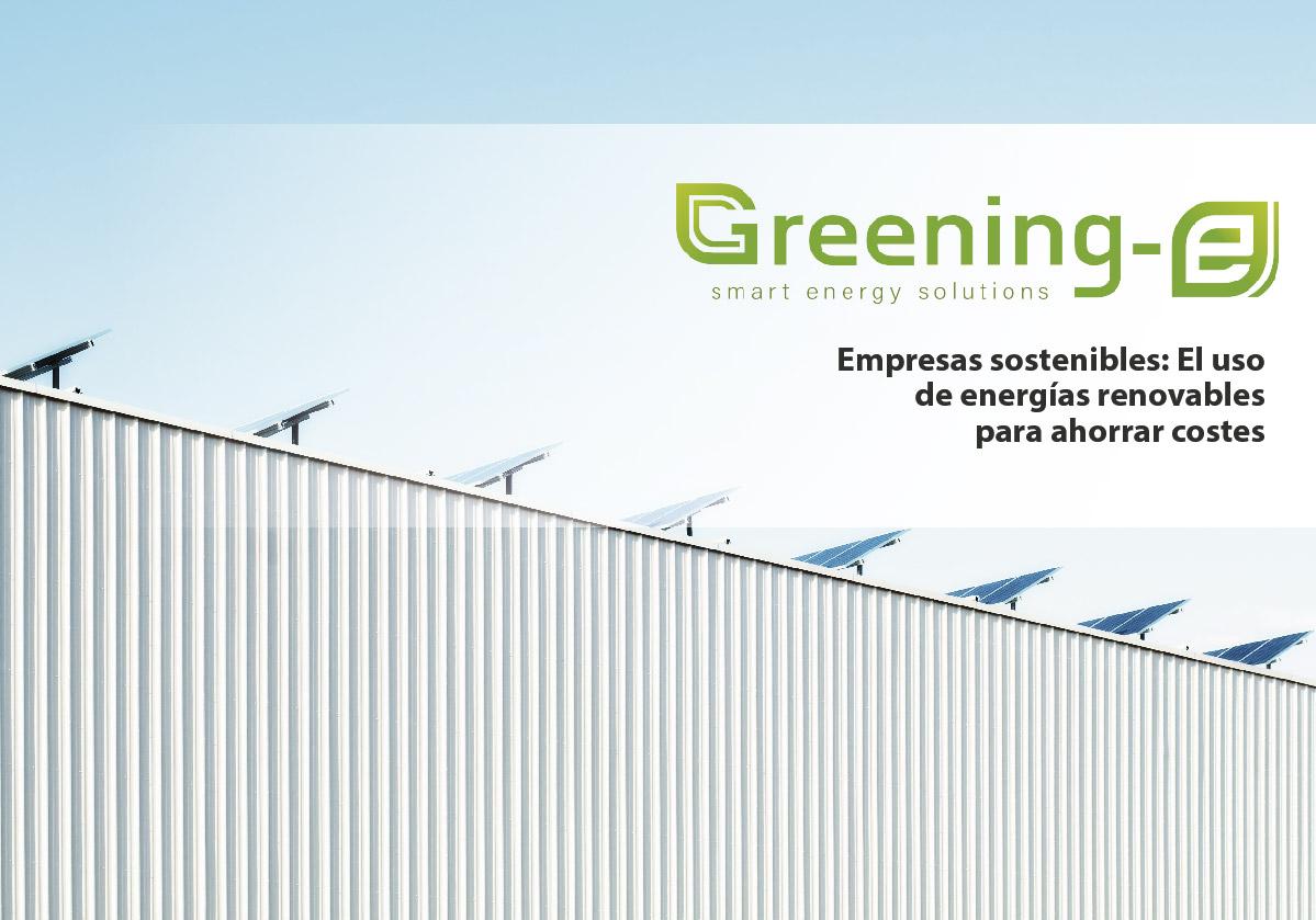 Empresas sostenibles Greening-e