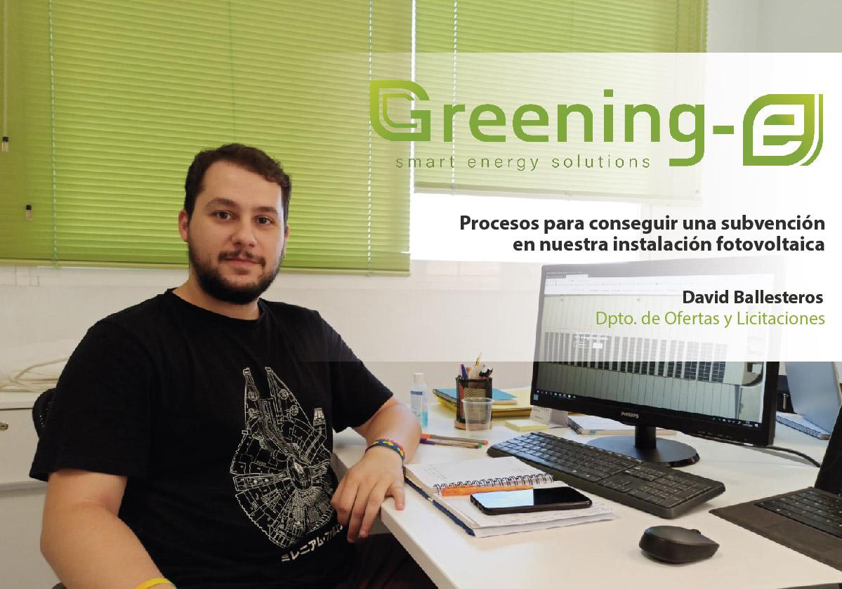 procesos para conseguir una subvencion en una instalación fotovoltaica