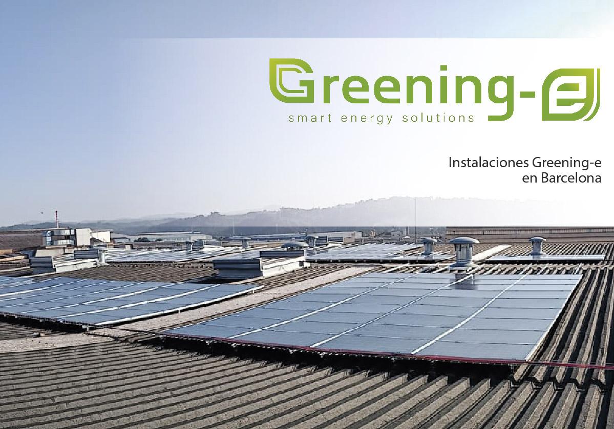 Instalación fotovoltaica en barcelona para laboratorios ern