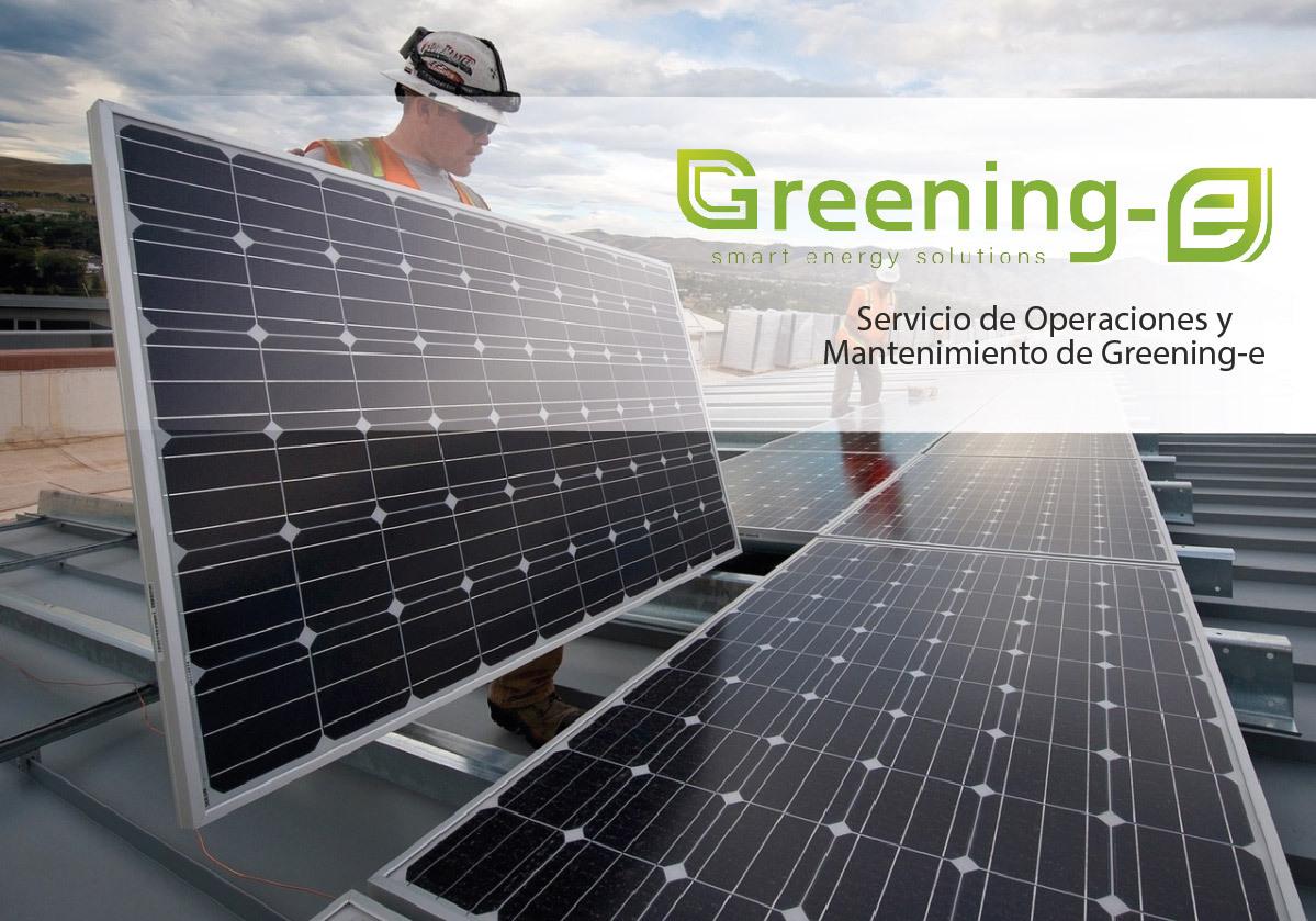 Servicio de operaciones y mantenimiento greening-e
