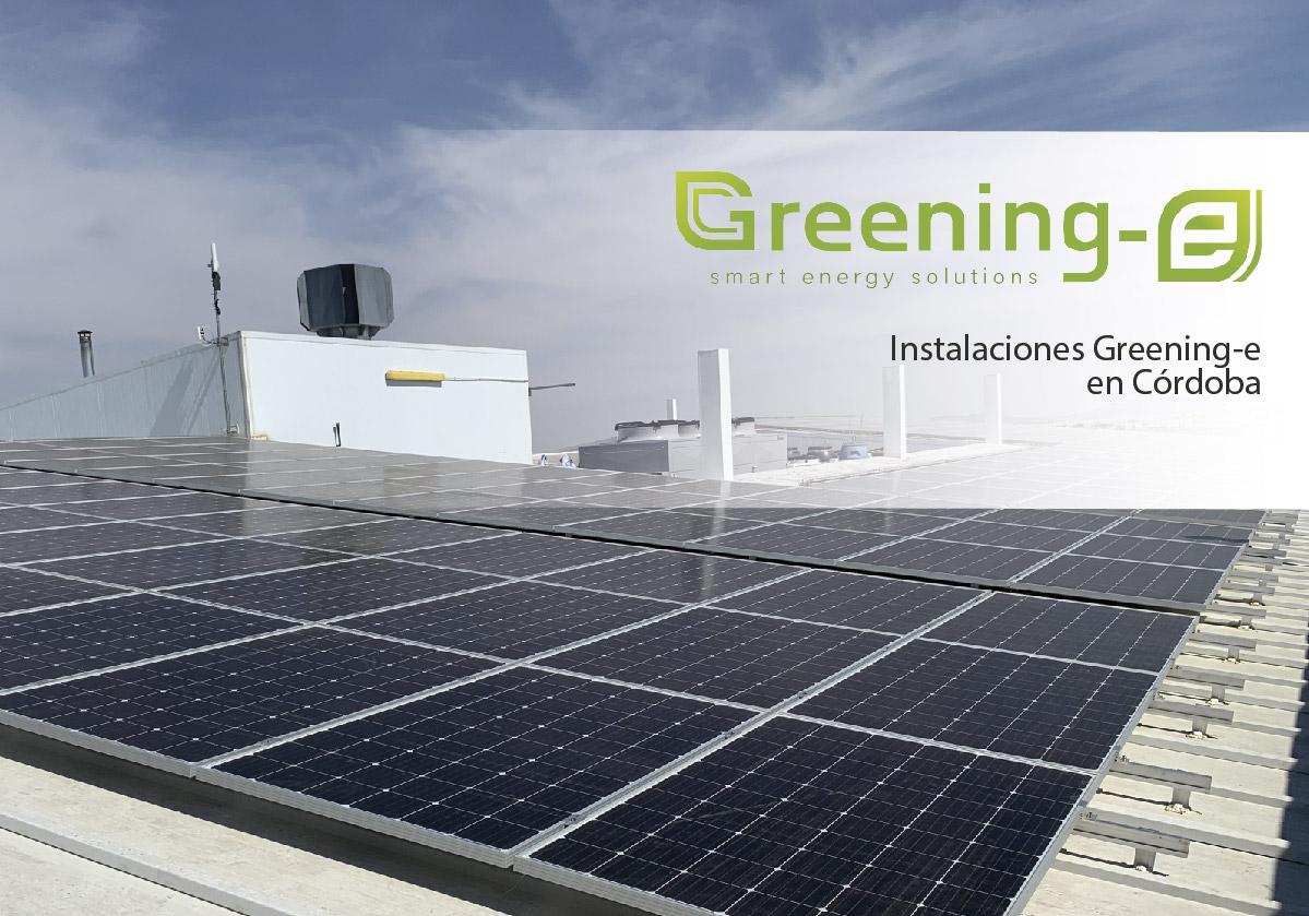 Instalaciones greening-e en cordoba