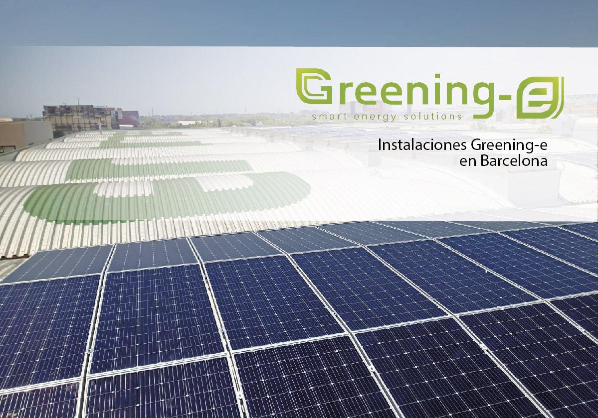 Instalaciones Greening-e en barcelona
