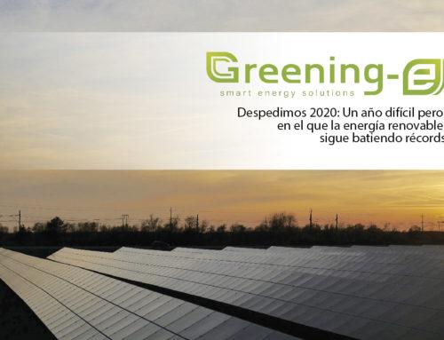 Despedimos 2020: Un año difícil pero en el que la energía renovable sigue batiendo récords