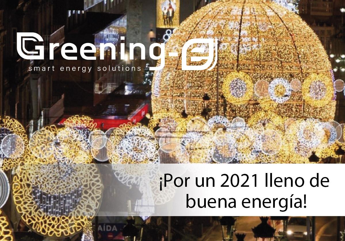 por un 2021 lleno de buena energía
