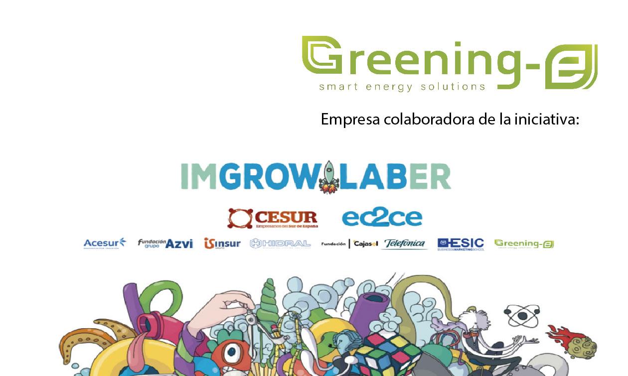 Greening-e es empresa colaboradora de I'm Growlaber
