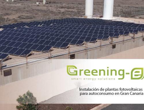 Instalación de plantas fotovoltaicas para autoconsumo en la depuradora y desaladora del Sureste de Gran Canaria