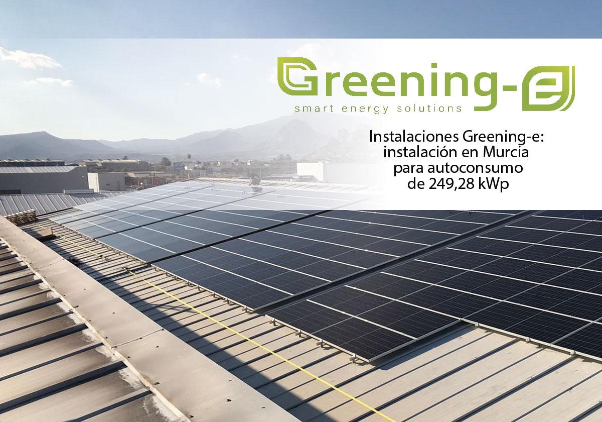 instalación fotvoltaica para autoconsumo en murcia