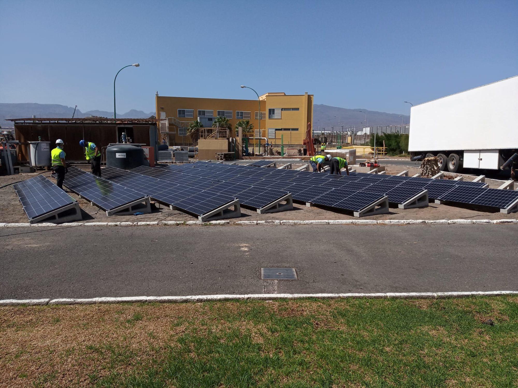 instalacion fotovoltaica para autoconsumo de Greening