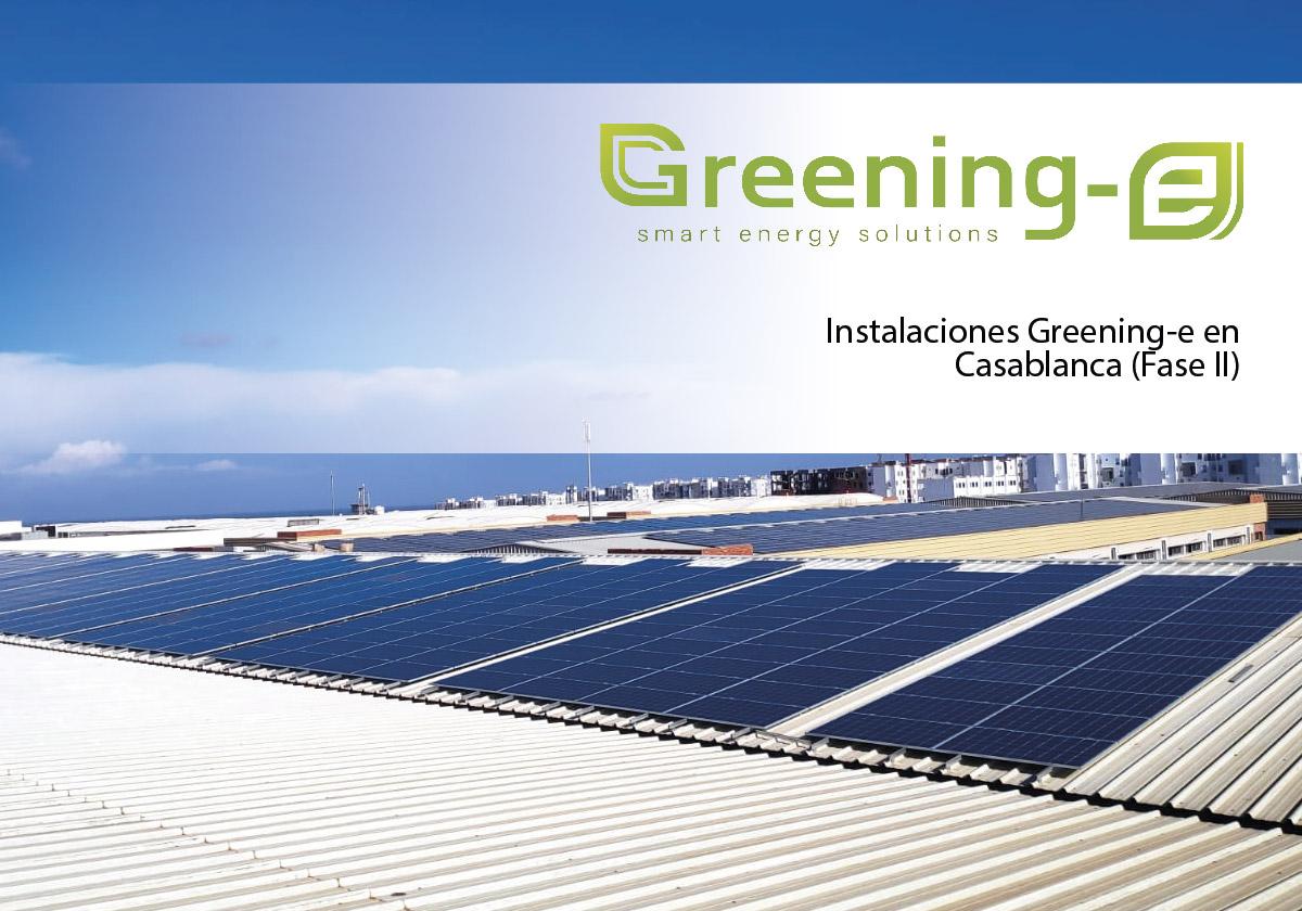 ampliación de la instalación fotovoltaica Dolidol en Marruecos