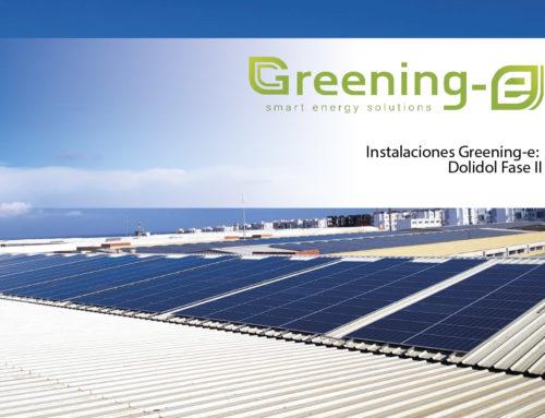 Instalaciones Greening-e: Dolidol fase II