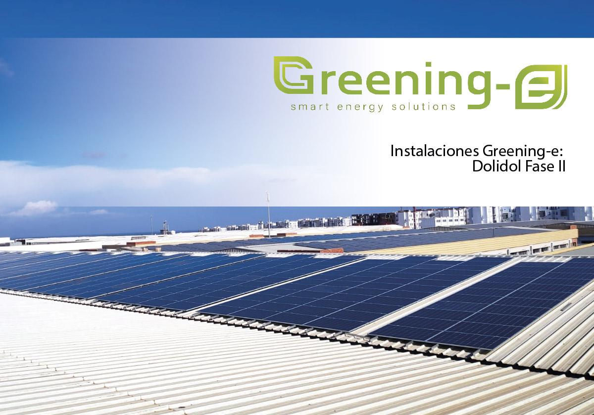 Instalaciones Greening-e Dolidol Fase II en Marruecos