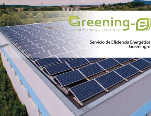 Servicio de Eficiencia Energética Greening-e