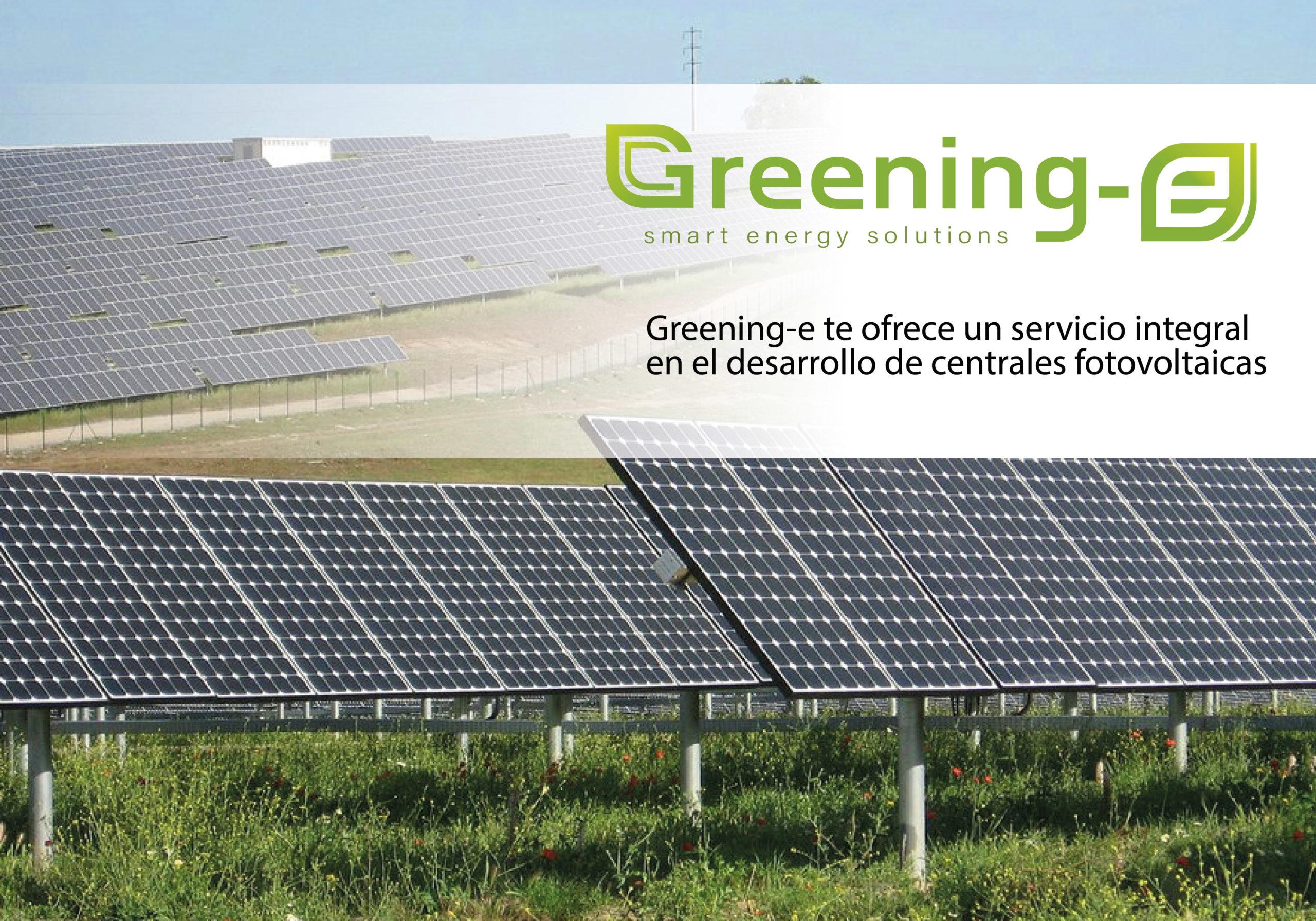 Departamento de Utility Scales para el desarrollo y gestión de centrales fotovoltaicas