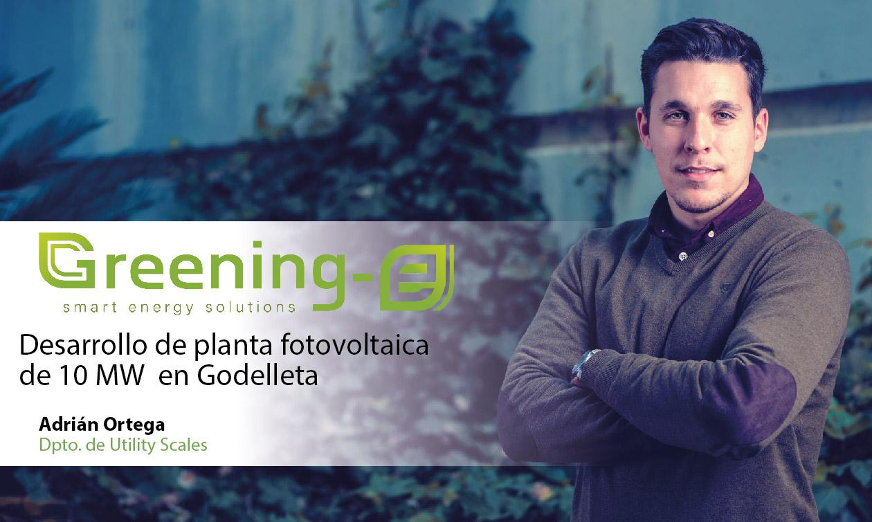 Greening-e desarrolla una planta fotovoltaica en Godelleta (Valencia)