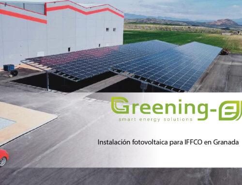 Instalación fotovoltaica para IFFCO en Granada