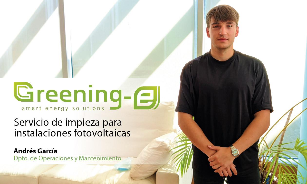 Greening-e te ofrece un servicio de limpieza integral de instalaciones fotovoltaicas