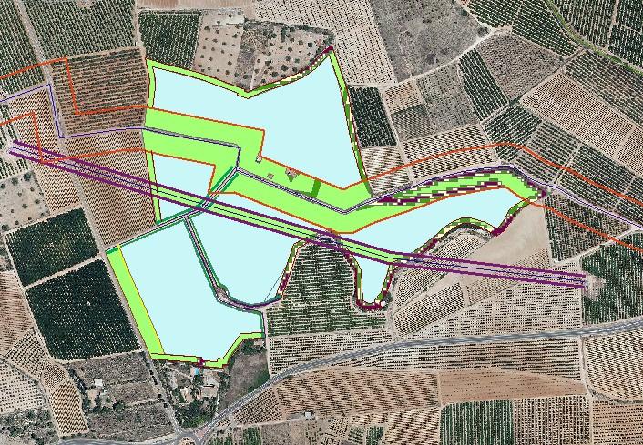 estudio del terreno para el desarrollo de la planta fotovoltaica en Godelleta
