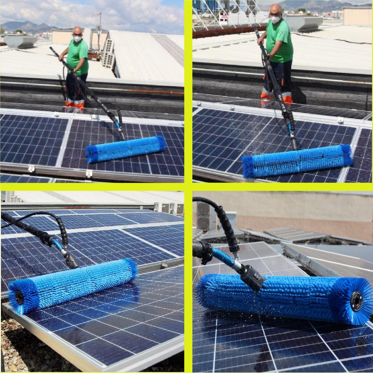 limpieza de módulos fotovoltaicos