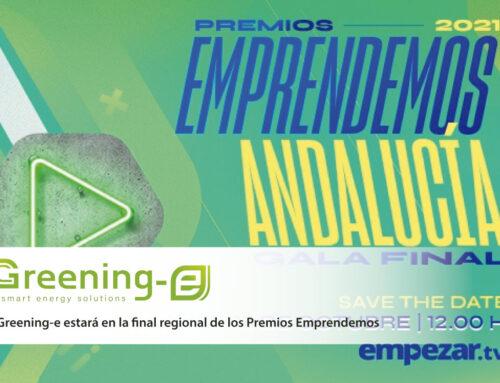 Greening-e estará en la final regional de los Premios Emprendemos